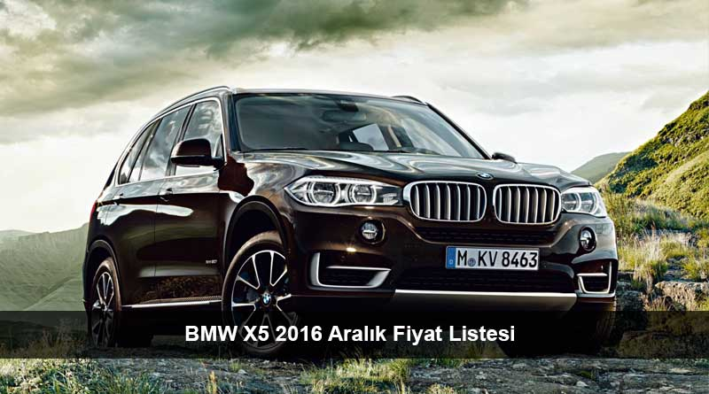 bmw x5 2016 aral k fiyat listesi son araba fiyatlar. Black Bedroom Furniture Sets. Home Design Ideas
