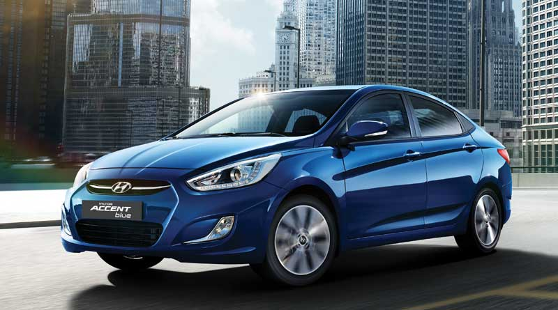 Image Gallery of Hyundai Accent 2017 Blue