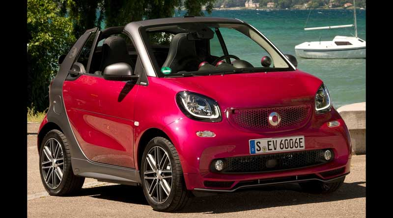2017 Smart Fortwo Cabrio Electric Drive Fiyat Ve